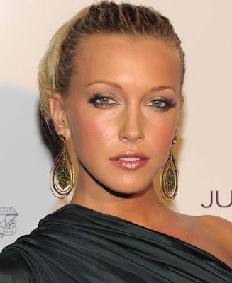 Katie Cassidy Dangling Gemstone Earrings