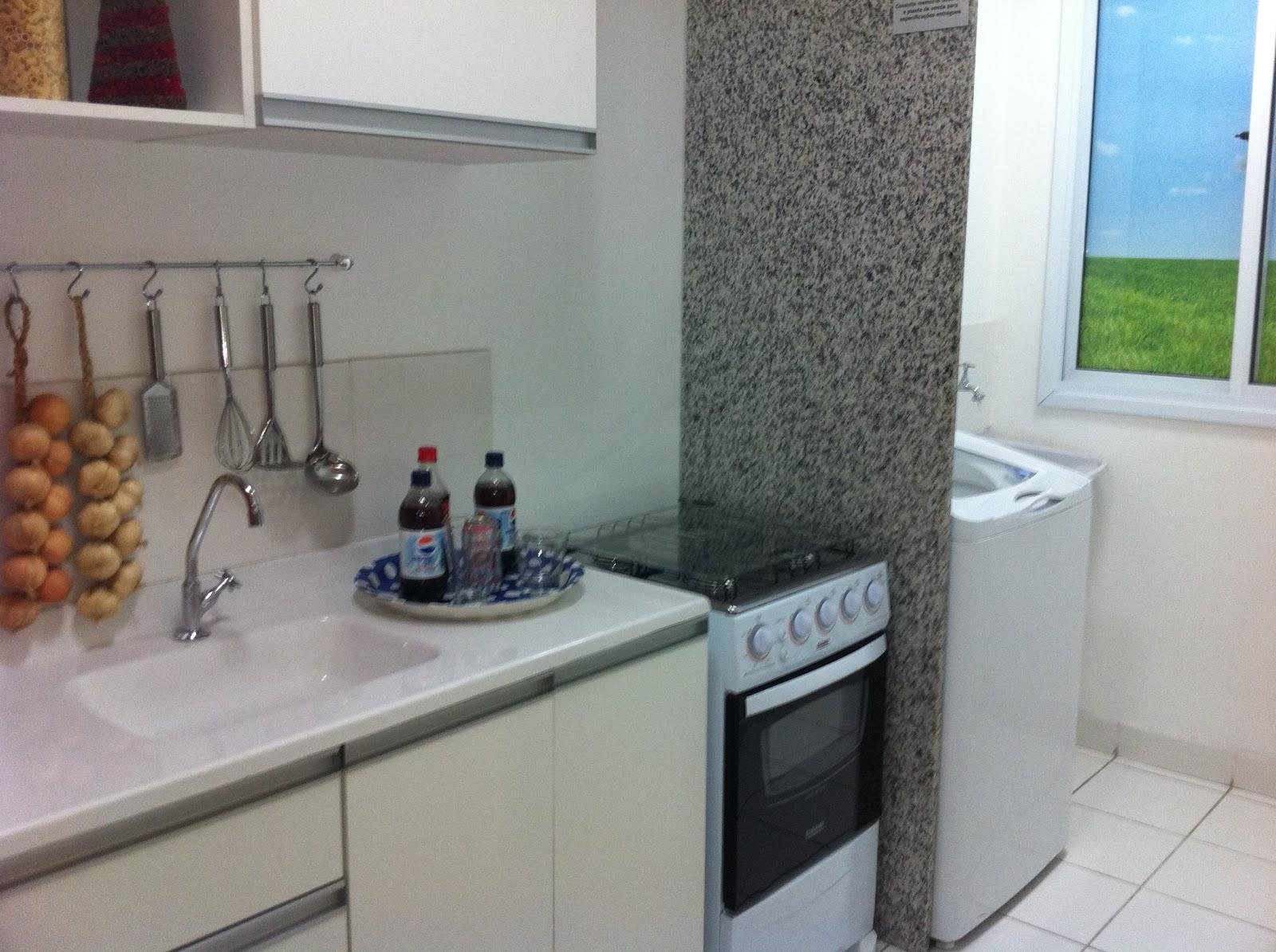 Favoritos Decoração: Dividindo a Cozinha e a Lavanderia - Cores da Casa AC28