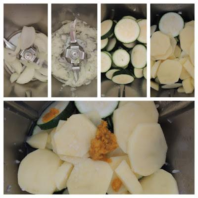 crema con zucchine bimbi