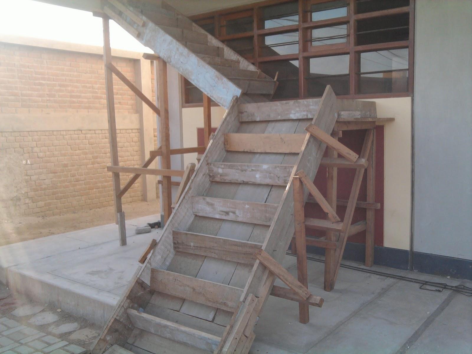 Educaci n t cnica for Como iluminar una escalera