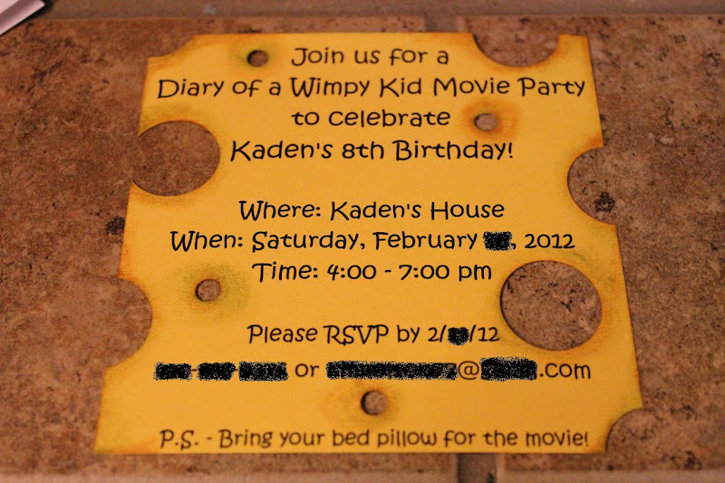 The Muddy Princess Diary Of A Wimpy Kid Birthday Party