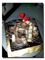 double layer choc cake