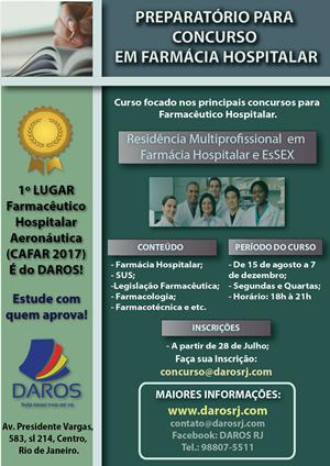 Concurso em Farmácia Hospitalar