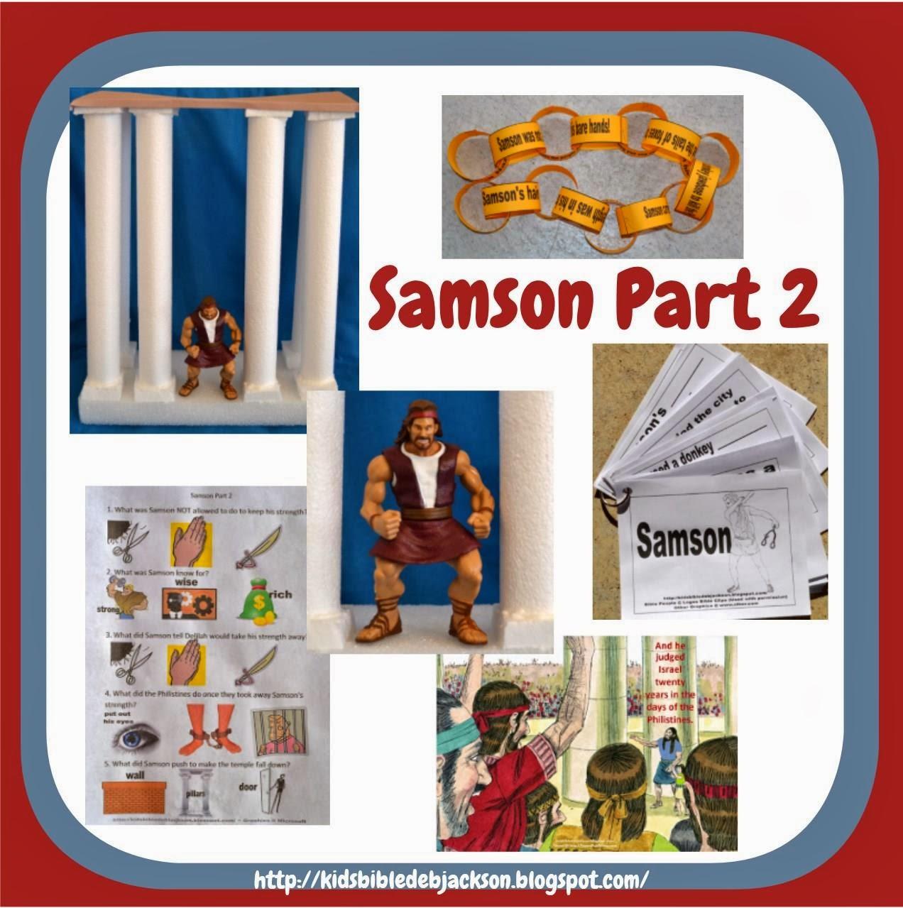 http://kidsbibledebjackson.blogspot.com/2014/01/samson-part-2.html