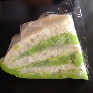 vietnam, otcb on tour, food, pandan, cake