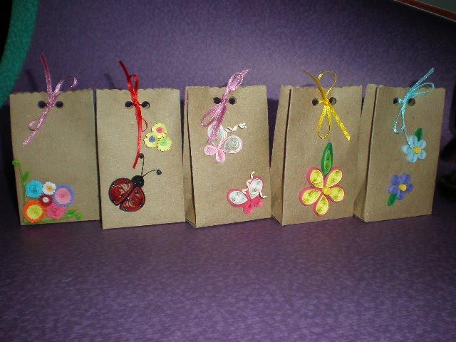 Libretas de colores - Bolsa de papel para regalo ...