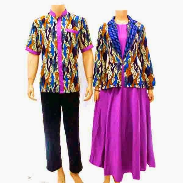 Foto Baju Batik Solmet