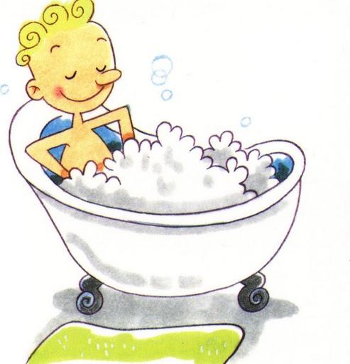 Dibujo de bañarse - Imagui