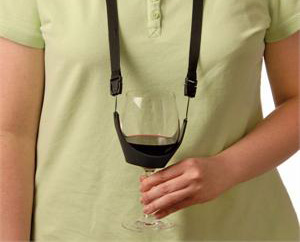 Necklace Sling for Wine Glasses