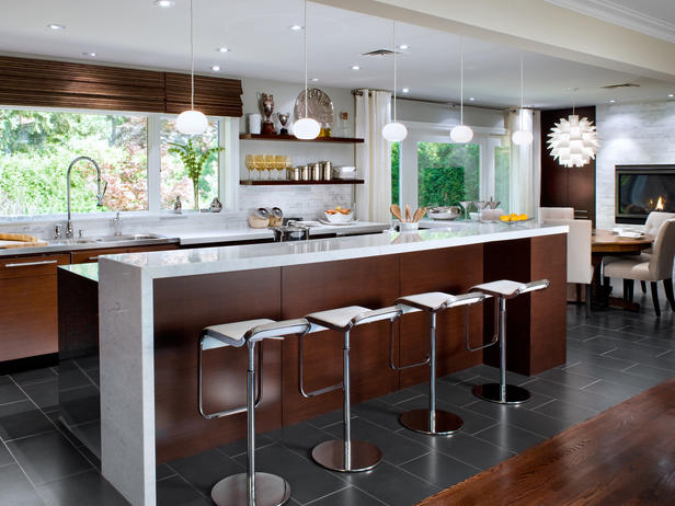 Modern furniture candice olson 39 s inviting kitchen design for Candice olson kitchen designs photos
