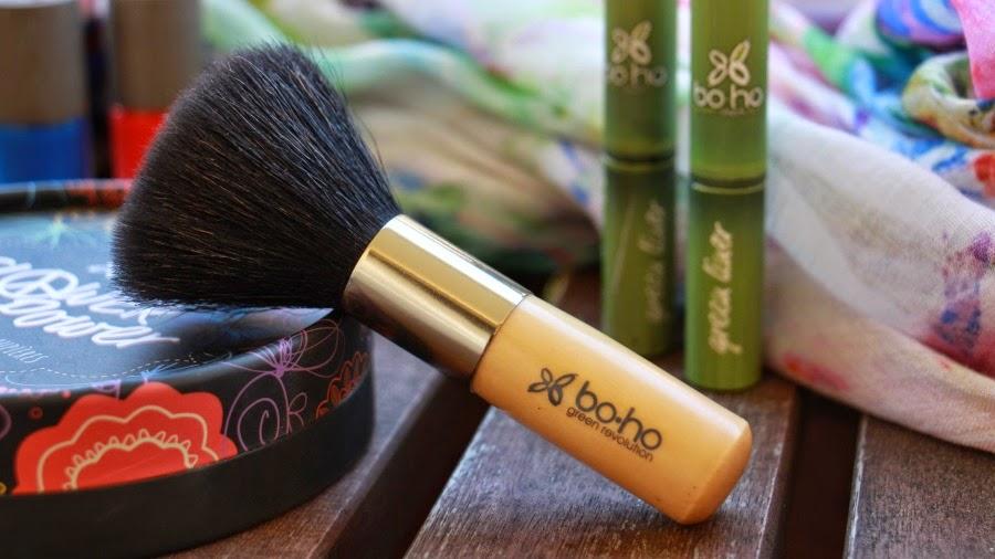 pinceau kabuki naturel boho green revolution