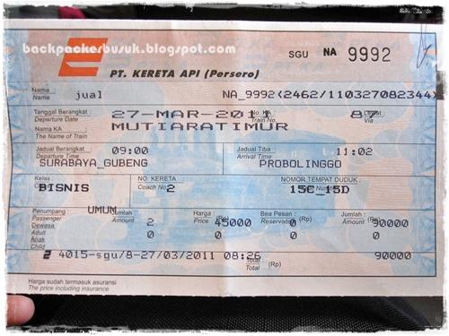 Keretapi : Mutiara Timur