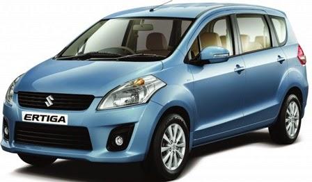 Tampilan Mobil Suzuki Ertiga