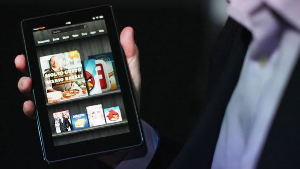 Venda de livros eletrônicos cresceu 175% durante o período de festas