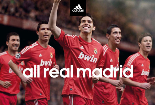 Red Real Madird Champions Third Shirt 2011 2012
