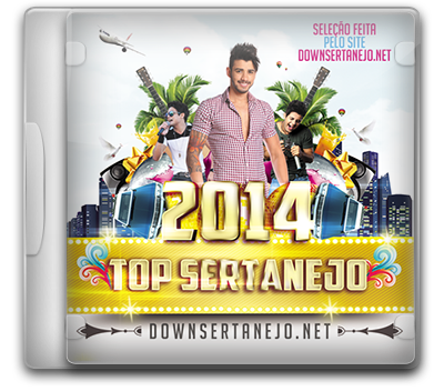 CD SERTANEJO TOP 2014