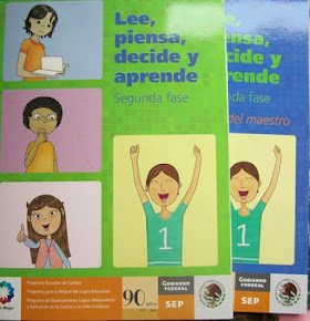 Lee, piensa, decide y aprende, SEP