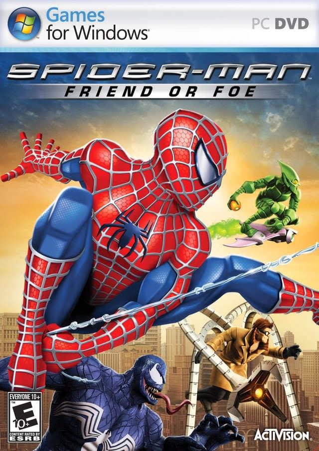 P Spiderman Games Spiderman Friend Or Foe