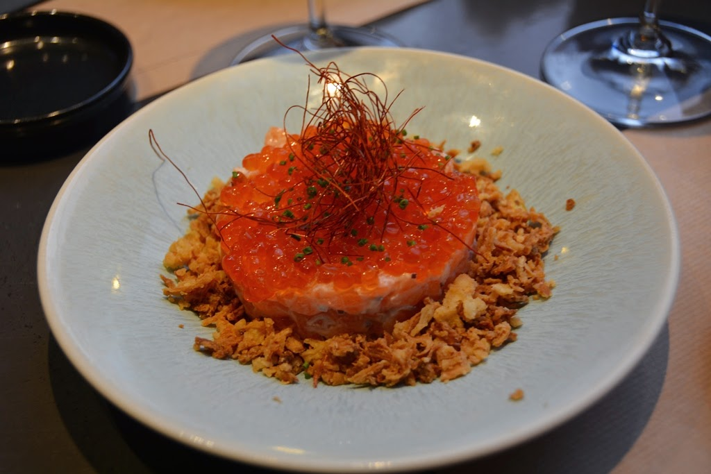Restaurant Umo Barcelona salmon tartar