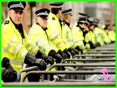 12,500 police at London Olympics