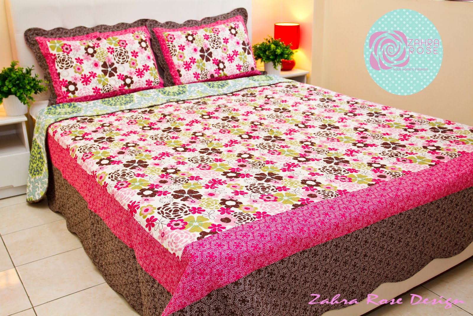 Bed sheets designs patchwork - Zr 009