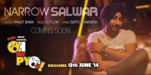 Narrow Salwar Lyrics - Ranjit Bawa