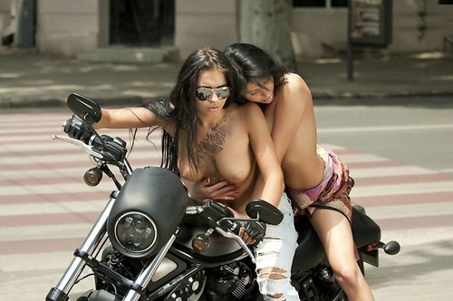 girls nude on triumph