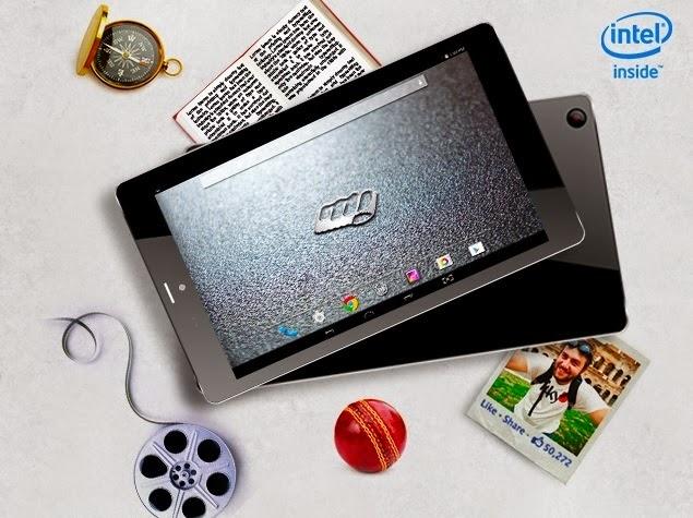 Micromax Canvas Tab P666, Spesifikasi Tablet Super Berprosesor Intel Atom