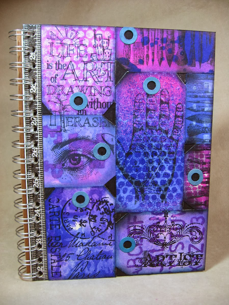 Cool Art Sketchbook Cover : Annette s creative journey some inky fun with dylusions