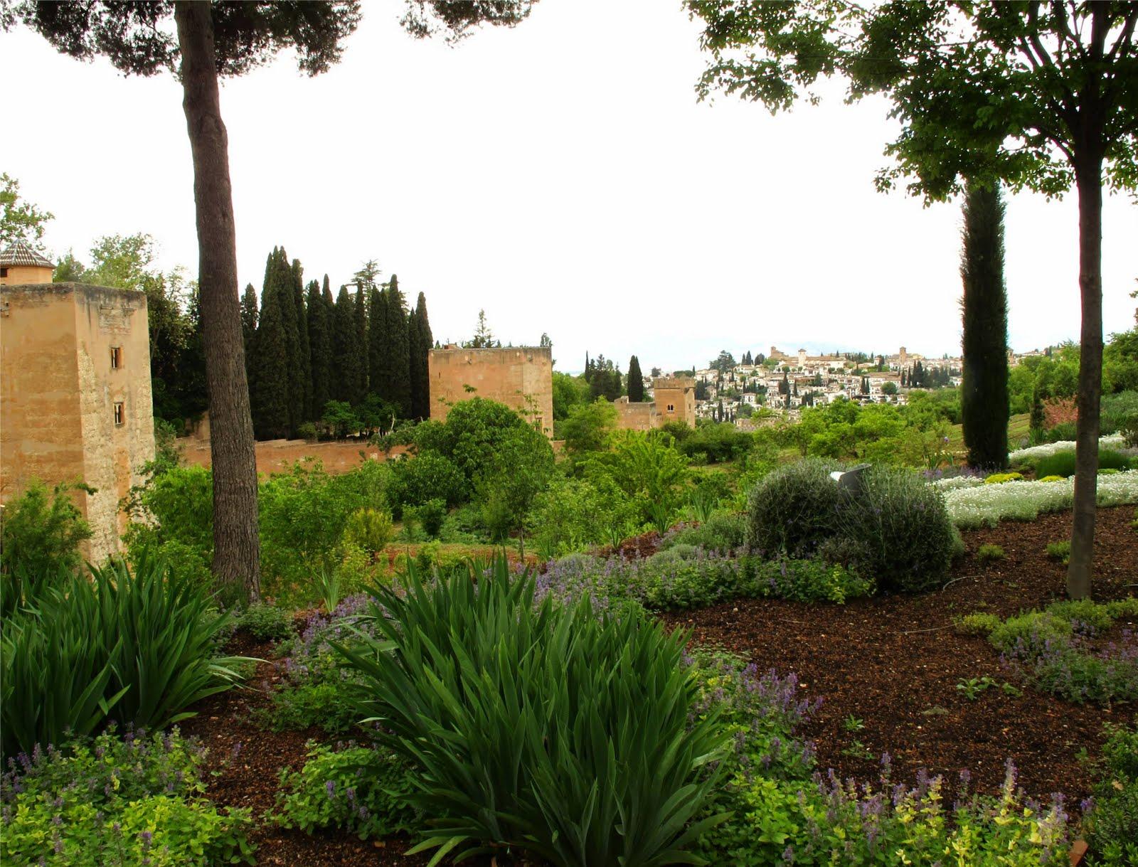 Milerenda granada la alhambra el generalife - Jardines granada ...