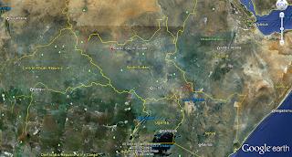 Aweil, South Sudan (Google Maps)