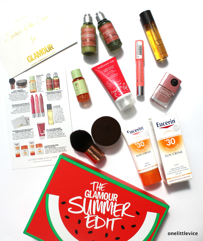 one little vice beauty blog: lib collection beauty box luxury brand contents