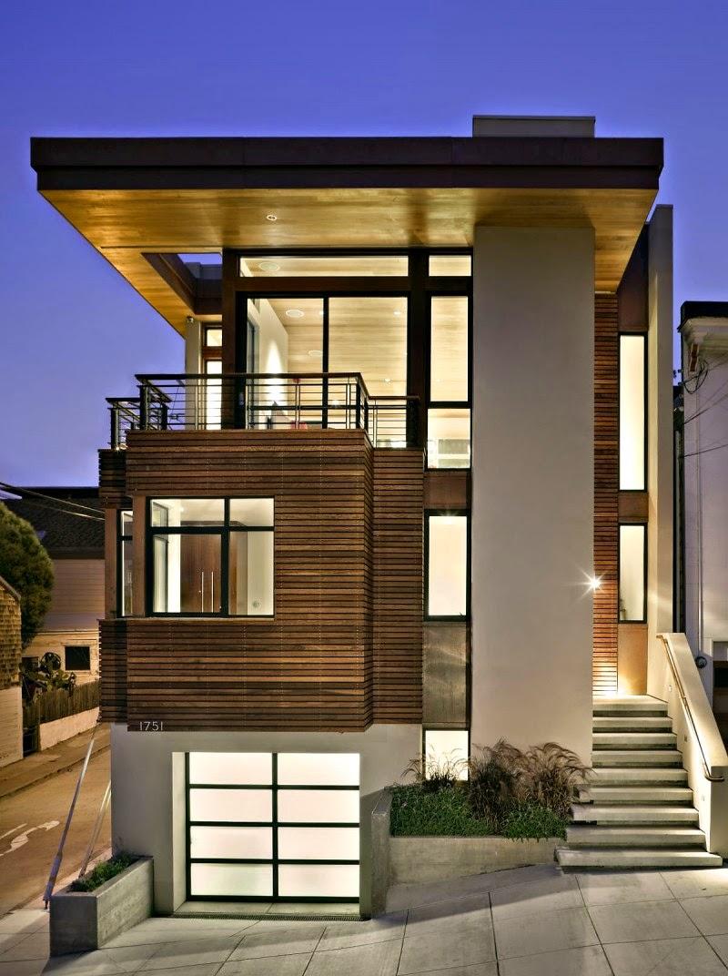 Gambar Rumah Minimalis Modern 2 Lantai