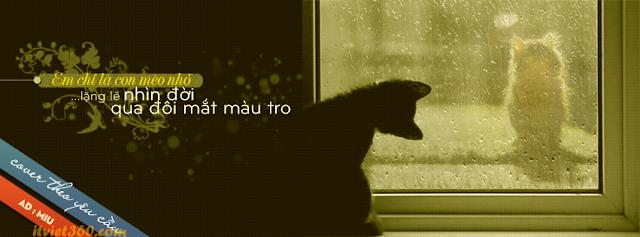 Ảnh bìa đẹp về tình yêu buồn cho Facebook - Cover FB, anh bia facebook