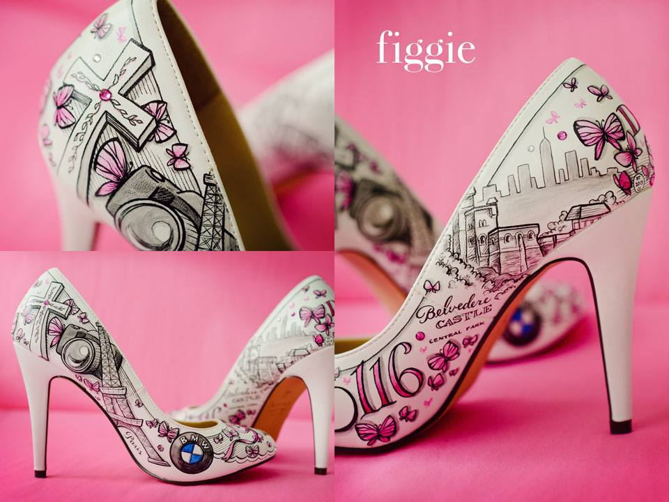 El baúl de las novias perdidas: Zapatos de novia personalizados