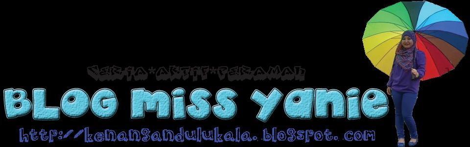 Blog Miss Yanie