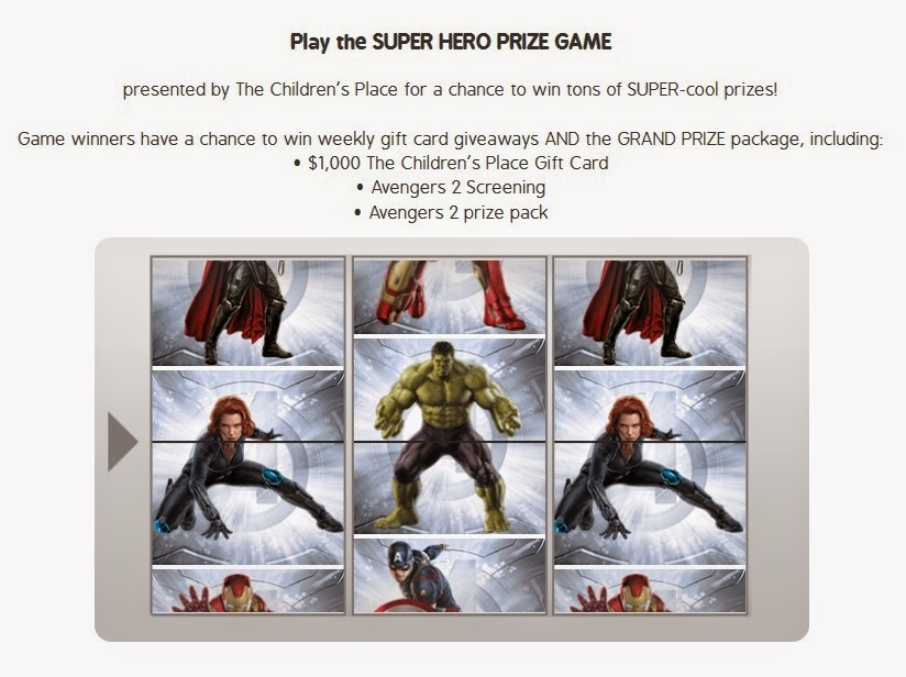 super hero prize game