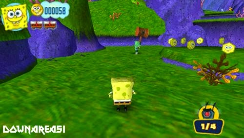 Spongebob Truth or Square PSP ISO - Download Game PS1 PSP ...