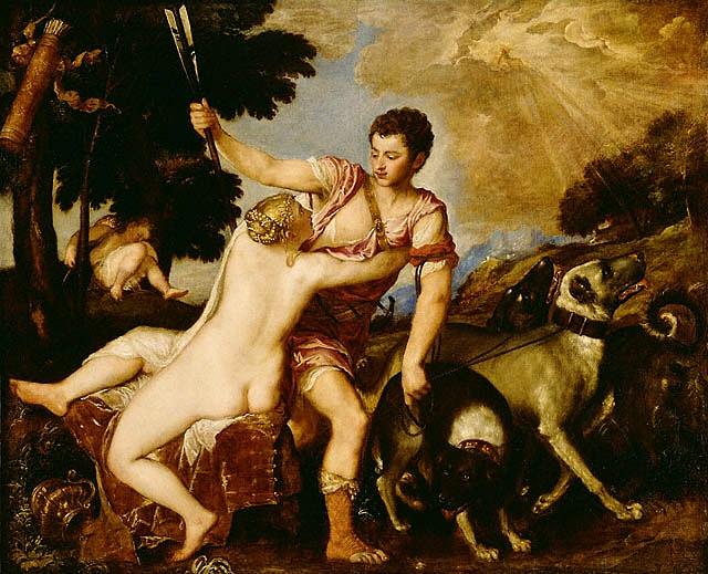 Tiziano, Venere e Adone
