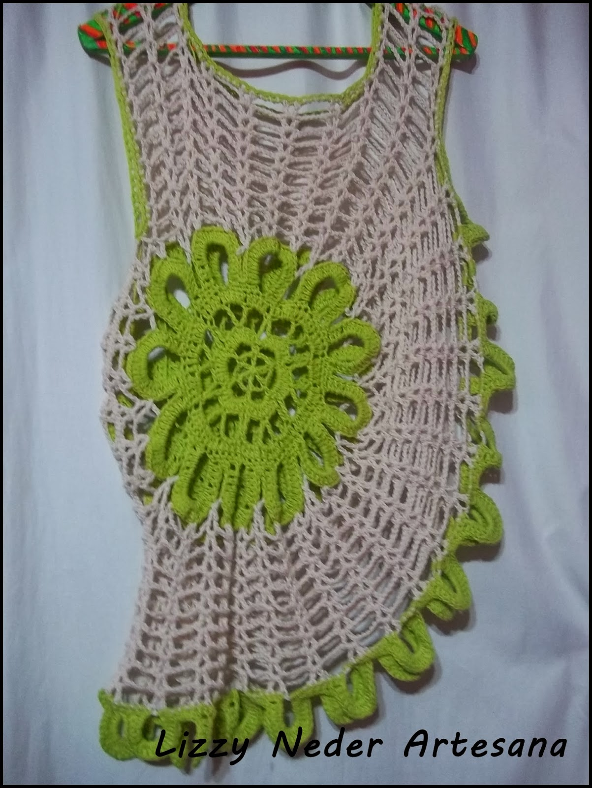 blusa con flor en forma circular a crochet parte 1 muy share the knownledge