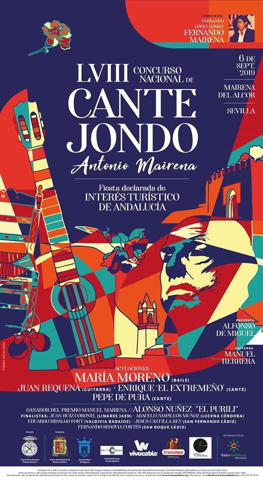 LVIII CONCURSO NACIONAL DE CANTE JONDO ANTONIO MAIRENA