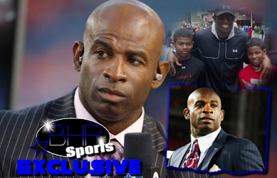 Former NFL Star Deion Sanders Kicks Sons(Shilo And Shedeur) Out On Christmas For Getting Their Ears Pierced