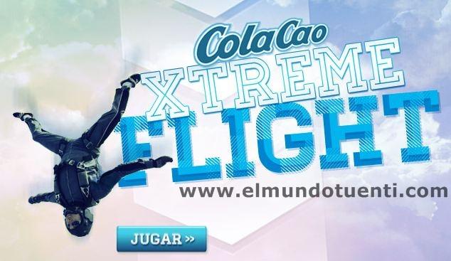 Juego Cola Cao Xtreme Flight de Tuenti