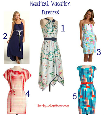 nautical vacation dresses with nautical style