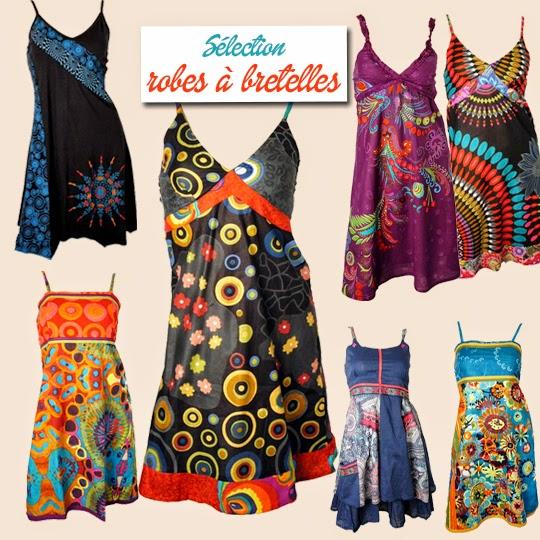 Des robes dété originales et colorées