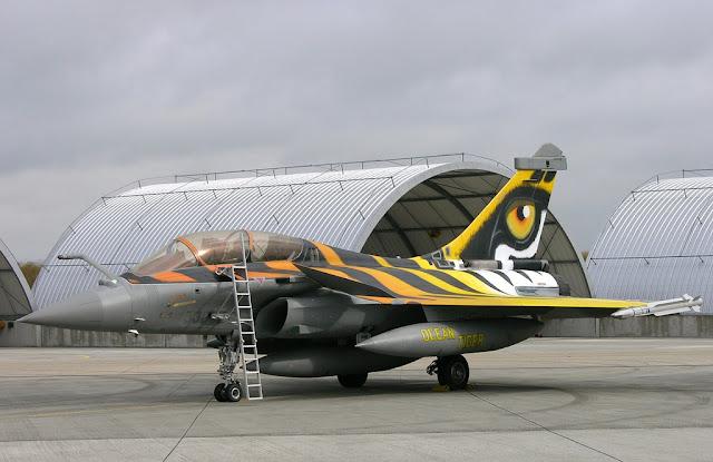 Dassault Rafale tiger eye
