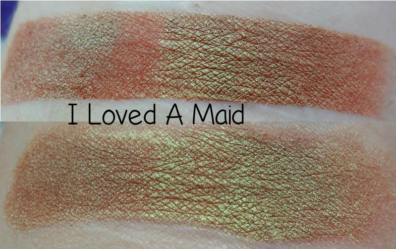 Shiro I Loved A Maid Swatch