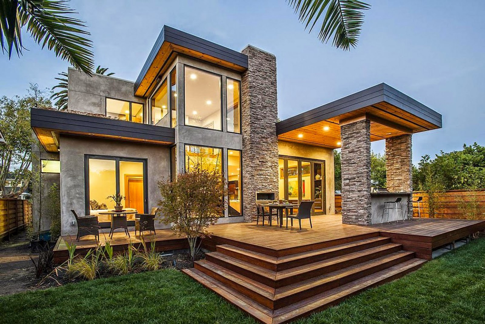 Ver fotos de casas bonitas escoja y vote por sus fotos de for Porche casa moderna