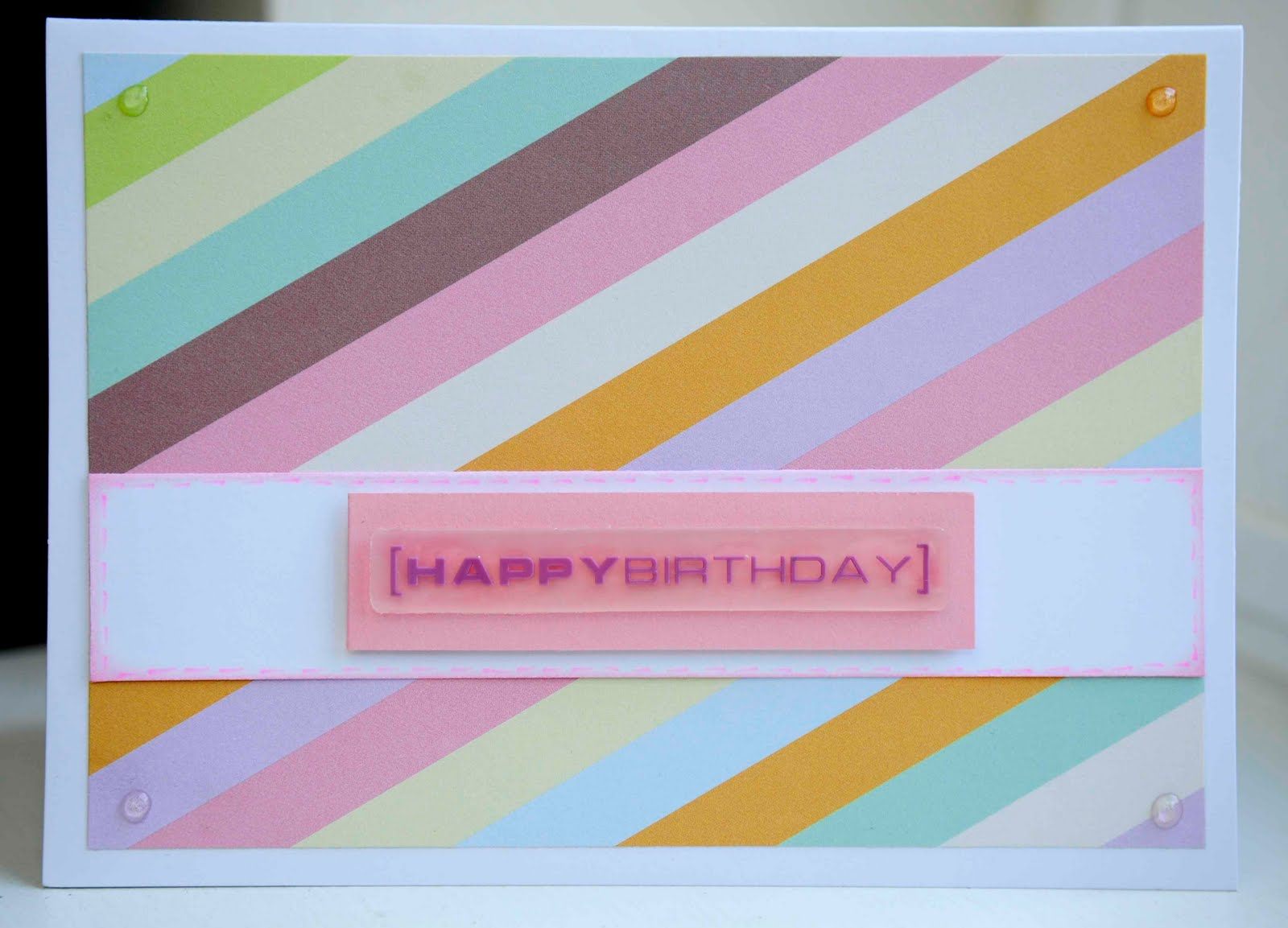 Oshea Designs Customized Paper Goodies Happy Birthday Cards
