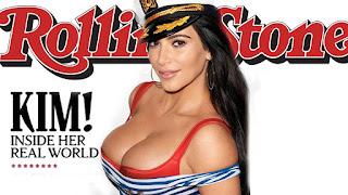 Polémica portada Rolling Stone con Kim Kardashian